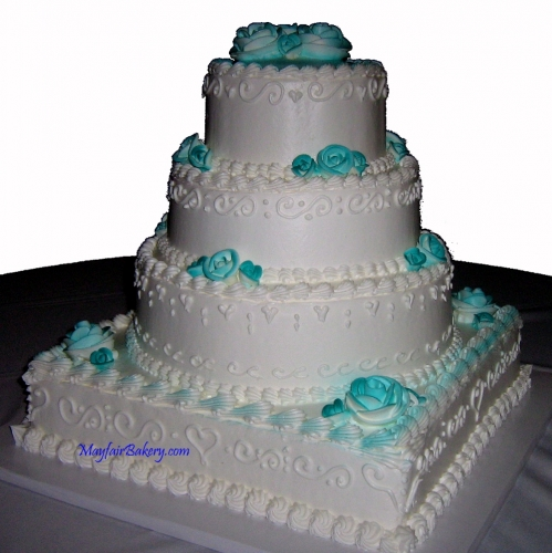 Cake 15-3 in Teal