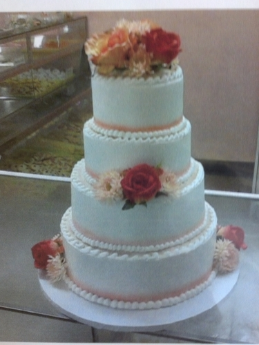 4 Tier Fall Flowers